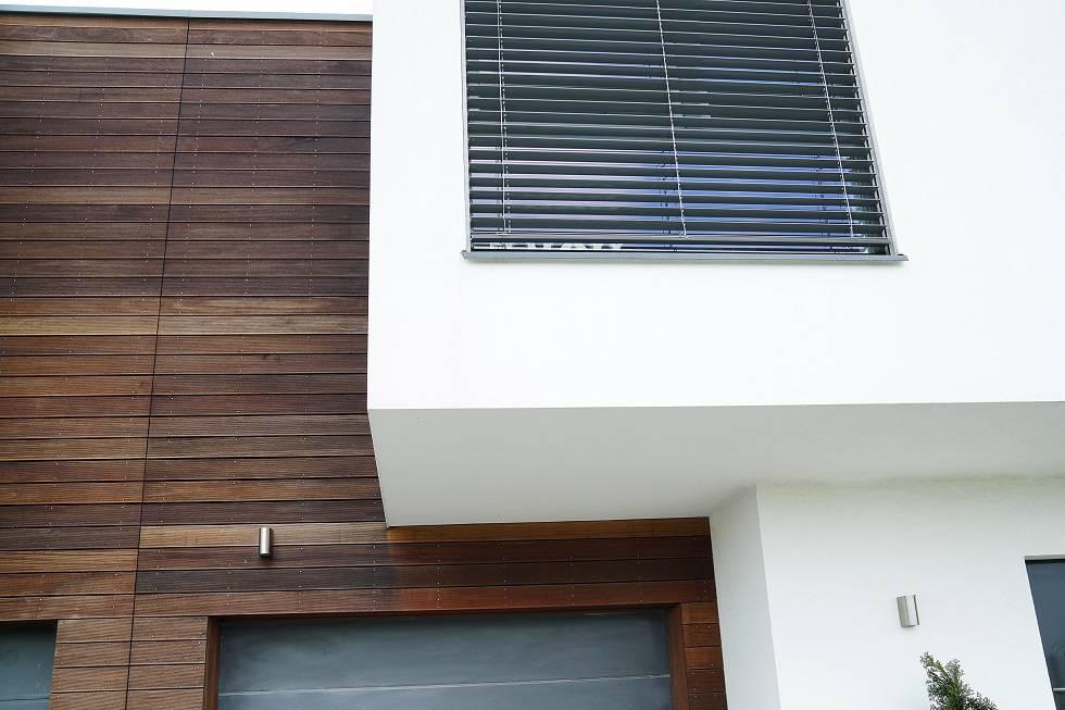 Nowoczesne żaluzje zewnętrzne fasadowe chronią przed nagrzaniem pomieszczeń