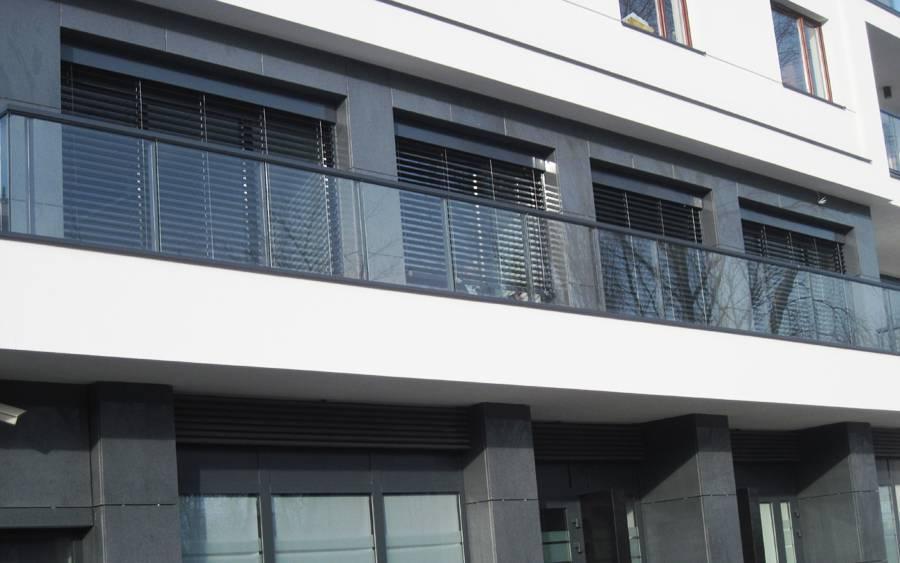Żaluzje fasadowe | Żaluzje zewnętrzne Warszawa