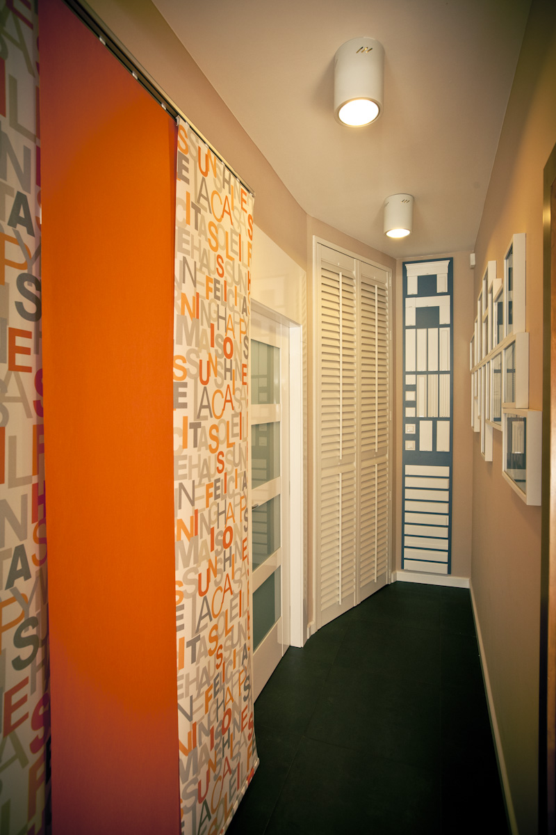 Salon paneli okiennych okiennic Lira Dom Warszawa