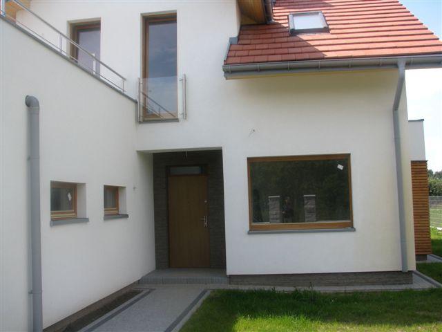 Energooszczędne podłużne okna drewniane