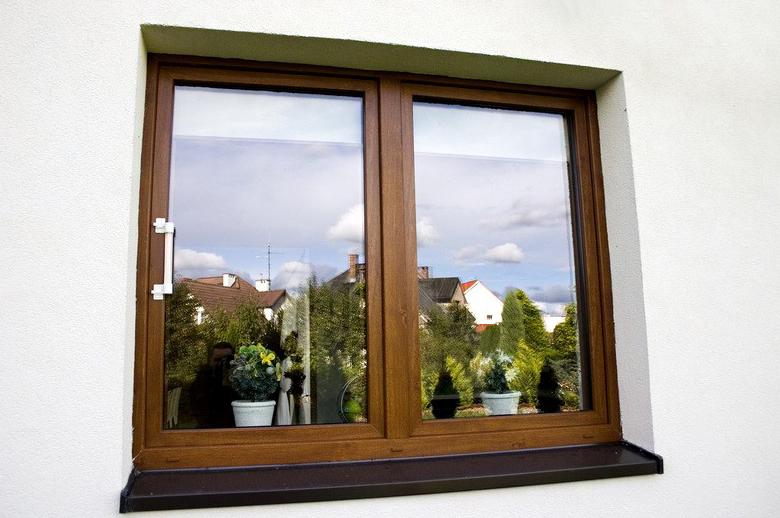 Okna z PCV brązowe Warszawa