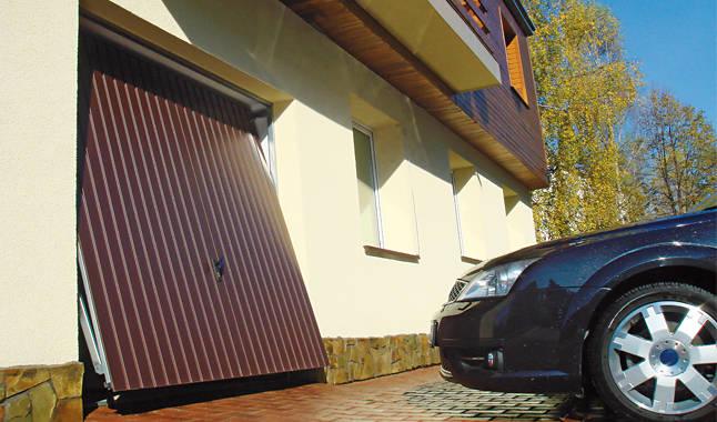 Bramy garażowe uchylne Warszawa