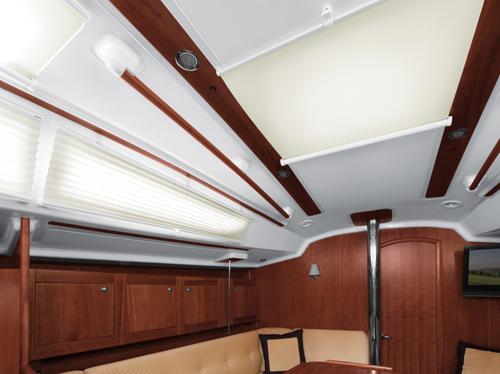 Eleganckie jasne plisy łodziowe i na jachty